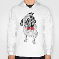 percy jackson Hoodies featuring Percy Pug by 13 Styx