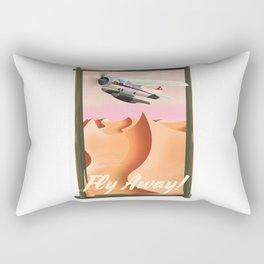 Fly Away! Rectangular Pillow