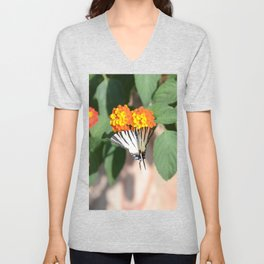 Scarce Swallowtail Butterfly Unisex V-Neck