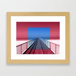 Tous les chemins mènent à Rome Framed Art Print
