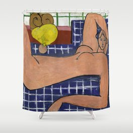 Henri Matisse Large Reclining Nude (Pink Nude) 1935 , Artwork Design, Poster Tshirt, Tee, Jersey, Po Shower Curtain