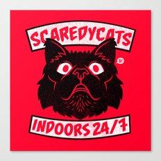 ScaredyCats Canvas Print