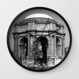 Palace Of Fine Arts - Infrared Wall Clock
