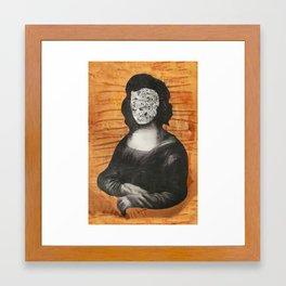Mona Who? Framed Art Print