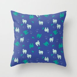 Dreaming Of New Zealand Throw Pillow