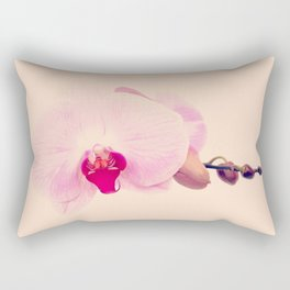 GENTLE ORCHID I Rectangular Pillow