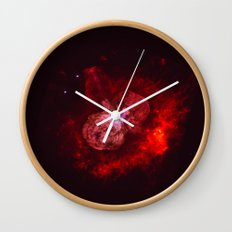Red Star Division Wall Clock