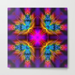 Kaleidoscope No.60 Metal Print