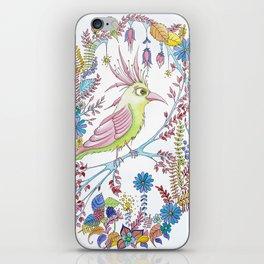 exotic bird iPhone Skin