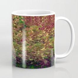Floral Fantasy Fall Abstract Coffee Mug