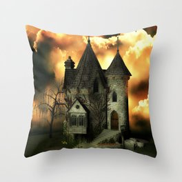 Stranded Manor Throw Pillow