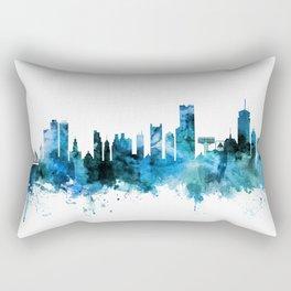 Boston Massachusetts Skyline Rectangular Pillow