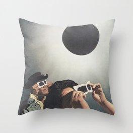 Lunar Moon Throw Pillow