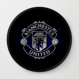 Manchester United Black Edition Wall Clock