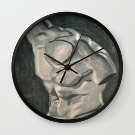 Greek Bust Wall Clock