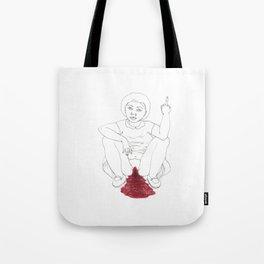 period angst Tote Bag