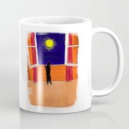 Window & Olivia (Cat) Coffee Mug