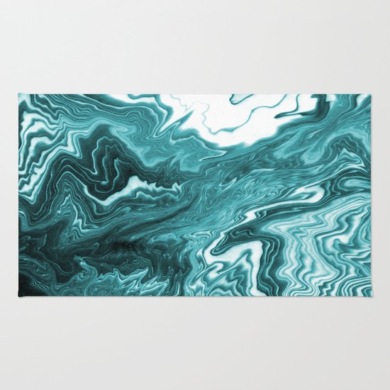 Water Beach Theme Rug Home Decor With