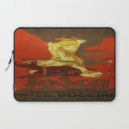 Vintage poster - Tosca Laptop Sleeve