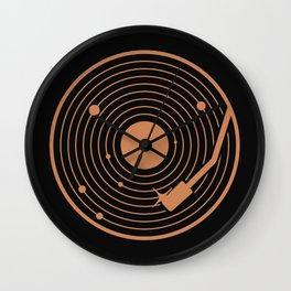 The Vinyl System Wall Clock