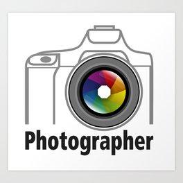Photographer Community Art Print