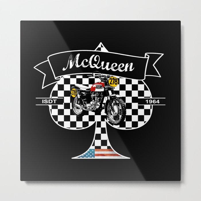 McQueen ISDT 1964 Metal Print