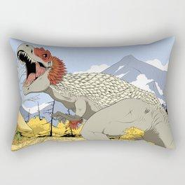 T-Rex Rectangular Pillow