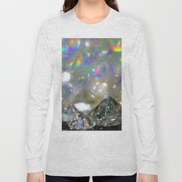 Rainbow Diamonds Long Sleeve T-shirt