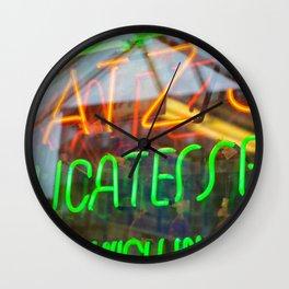 Reuben Sandwich Wall Clock