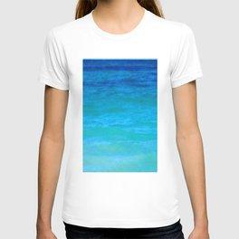 Landscape | Seascape | Water Colours Abstract | Nadia Bonello T-shirt