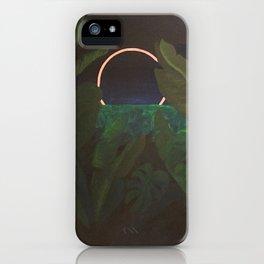 Jungle Eclipse iPhone Case
