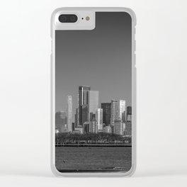 Panoramic Manhattan Clear iPhone Case