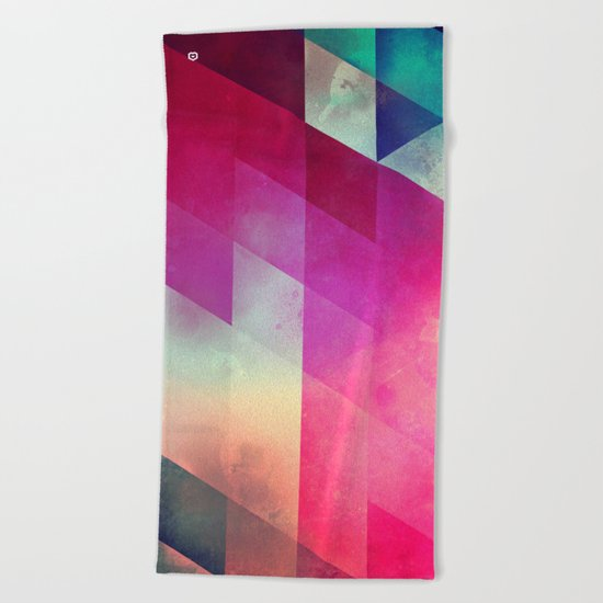 byy byy july Beach Towel