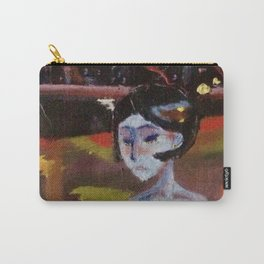 Blue Dame Carry-All Pouch