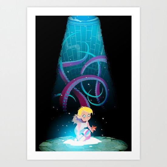 Tentacles Art Print