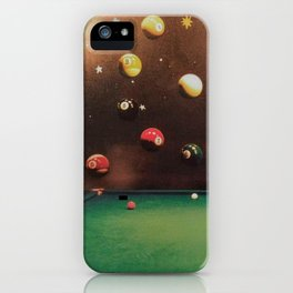 Lorne's Billiards Mandala iPhone Case