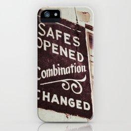 Locksmith iPhone Case