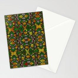 Geometric Glass Mosaic Pattern Stationery Cards