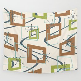 Mid Century Modern Minimalism Wall Tapestry