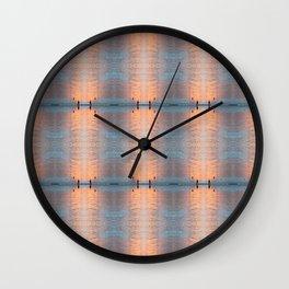 Glimmering Wall Clock