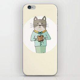 Cat Sandwich iPhone Skin