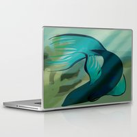 percy jackson Laptop & iPad Skins featuring Percy the Beta by Christina Gulbrandsen