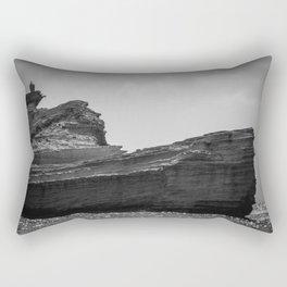 Rock boat Rectangular Pillow