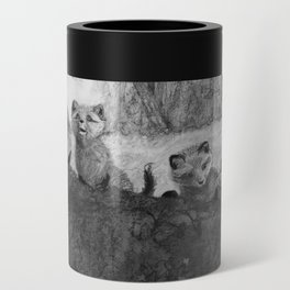 Fox Kits Sketch Can Cooler