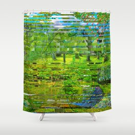 Landscape of My Heart (4 as 1) Shower Curtain