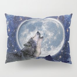 A One Wolf Moon Pillow Sham
