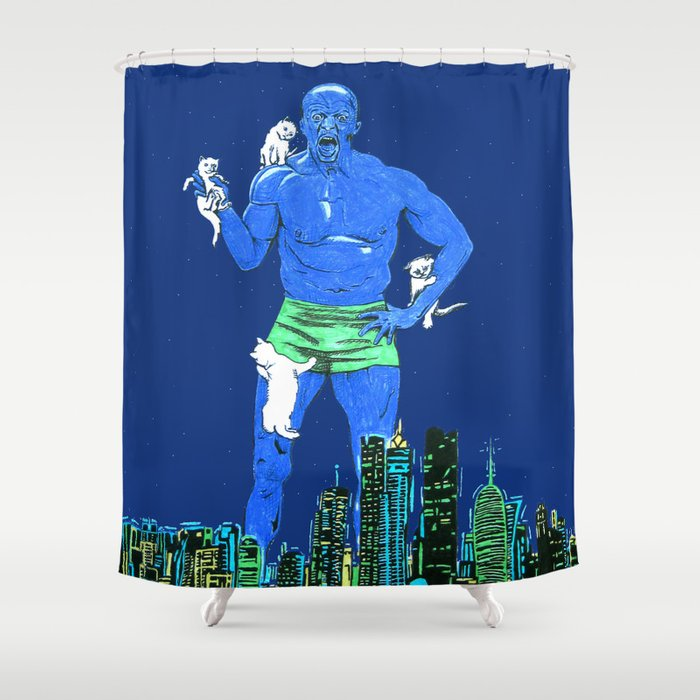 Terry Crews Shower Curtain by raliz | Society6