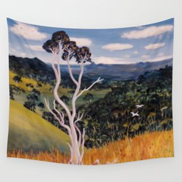 The Blue Mountains, Qld. Australia Wall Tapestry