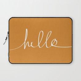 Hello, Pumpkin Laptop Sleeve