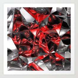 fractal design -75- Art Print